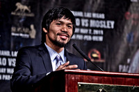 Manny Pacquiao Pre-Fight Workout & Presser