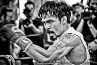 Manny Pacquaio Media Workout 10-26-11